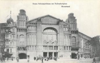 'Neues Schauspielhaus' at Nollendorfplatz, Berlin, ca. 1911. Photo: Akademie der Künste, Berlin, theatre photo collection, No. 14722